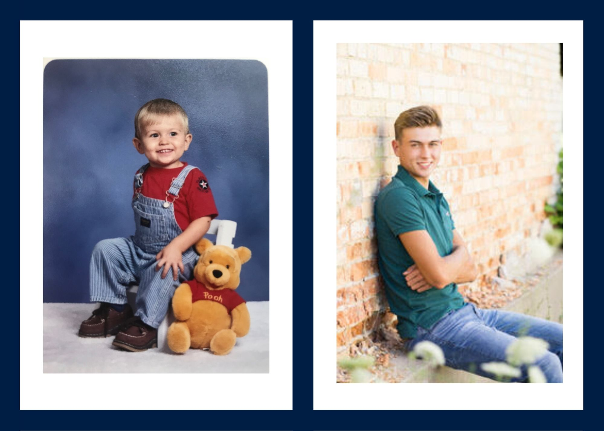 Photos of senior Tyler Schmitt
