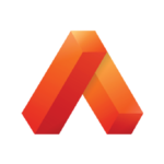 Orange chevron which is the Atlas Curriculum Map icon