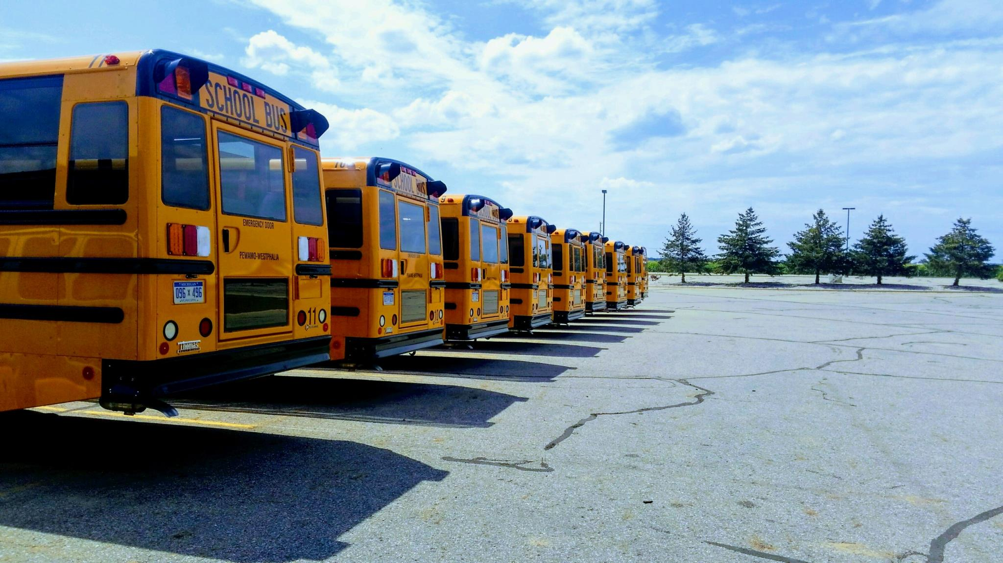 Leased busses 2017-2018